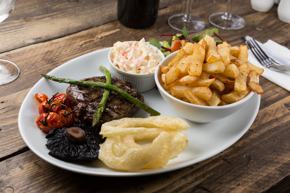 the belle vue cockermouth food
